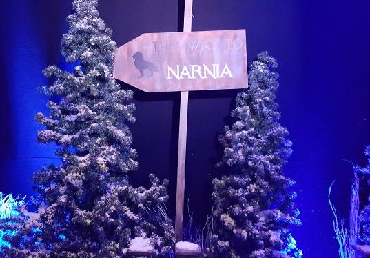 Narnia Event Theming Idea's - Narnia sign