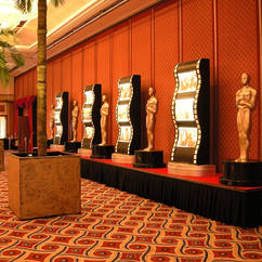 Film Award Statues and Film Light Boxes