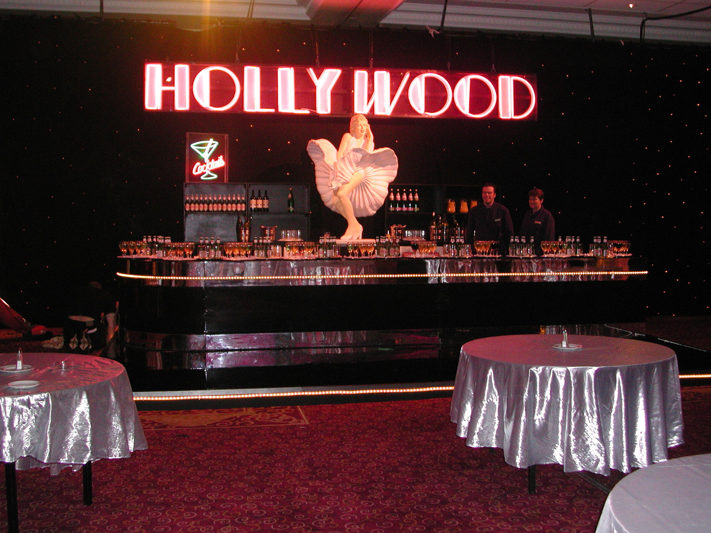 Neon - Hollywood Sign - prop hire - staging services