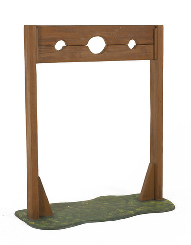Pillory - medieval stocks - prop hire staging services