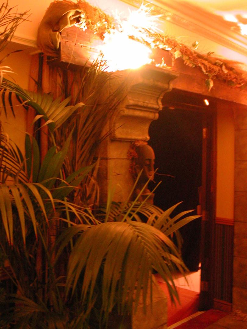 Jungle Cave Entrance Prop Hire - Staging Services