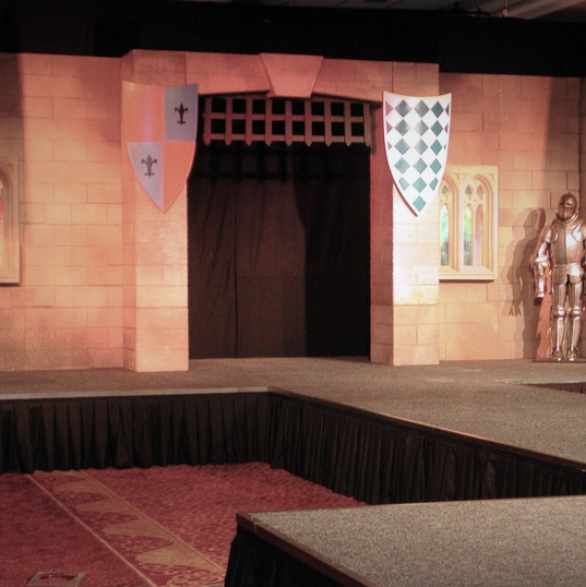 Medieval Event Theming Stage & Set