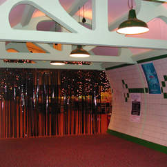 London Underground Themed Entrance