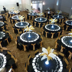 Great Gatsby Table decorations June 2016