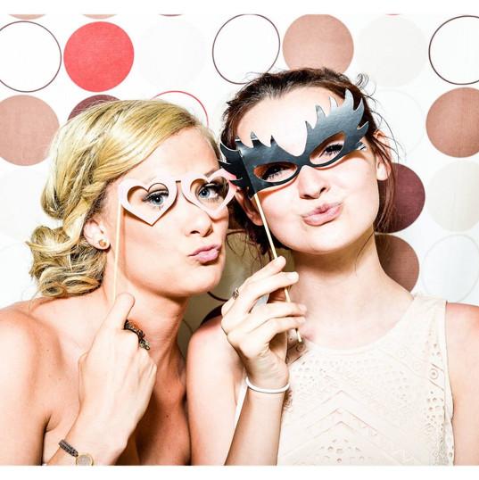 Venetian Masquerade Ball Photo Booth Props