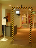 Goalpost Security Scanner Prop Hire - Staging Services