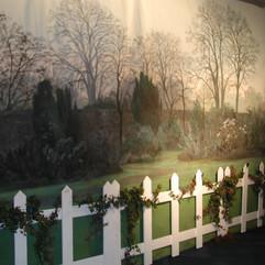 English Garden Photo Backdrop