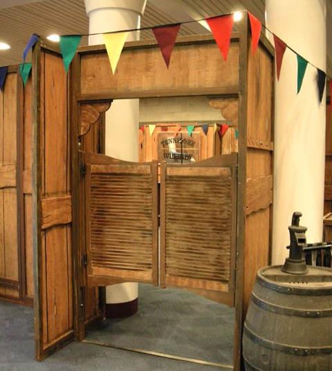 Saloon Doors Themed Events