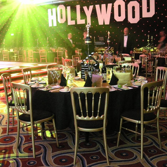 Hollywood Ball Event Theming