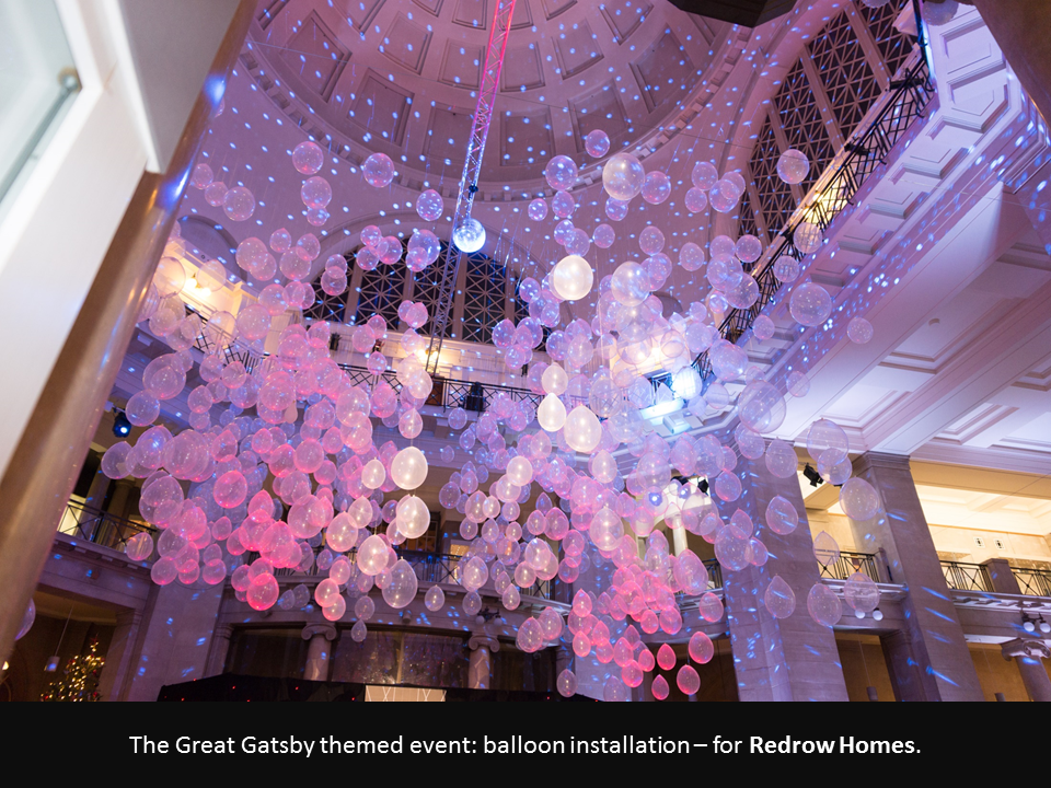 The Great Gatsby Balloons