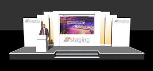 Double Screen Conference Set