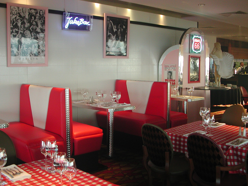 American Diner Set By Theming Services