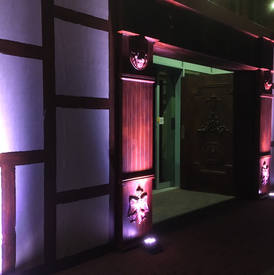 Narnia Wardrobe Entrance -Narnia Event Theming Idea's