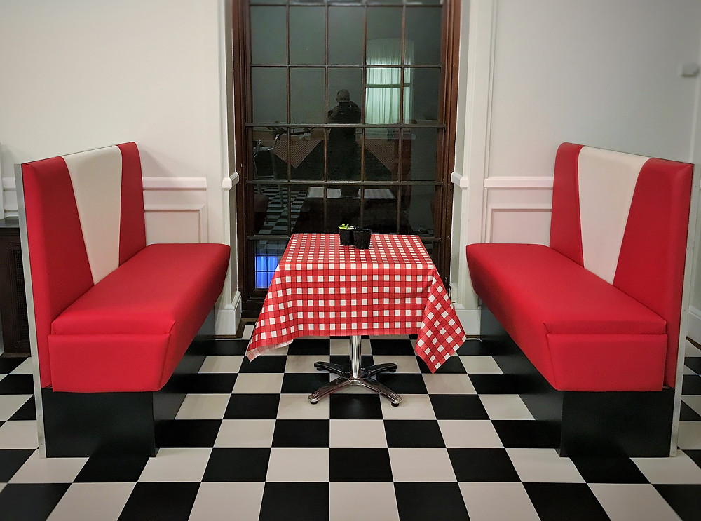 American Diner Booths - Themed Event