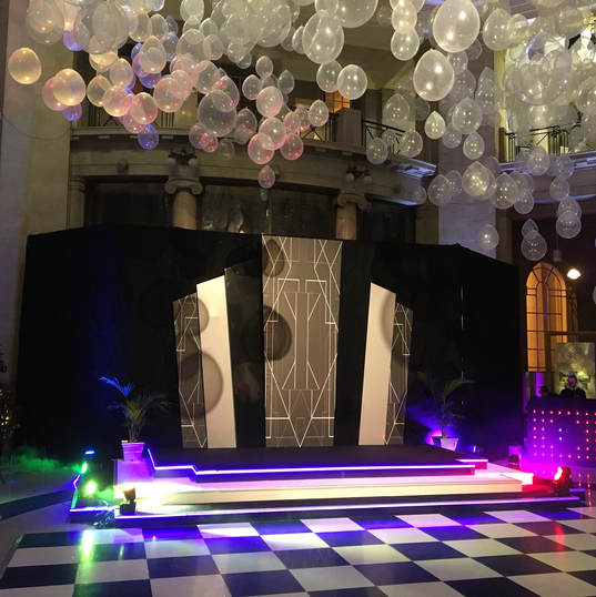 Black & White Themed Event