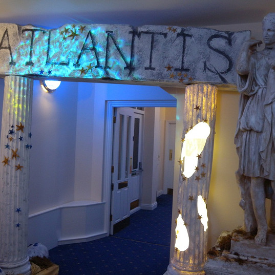 Lost City Of Atlantis Sign Event Theming