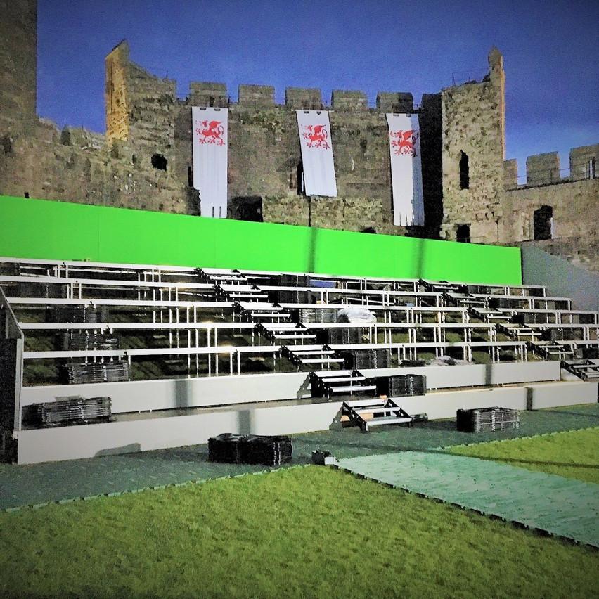 Seating Block 'A' & Green Screen (2)