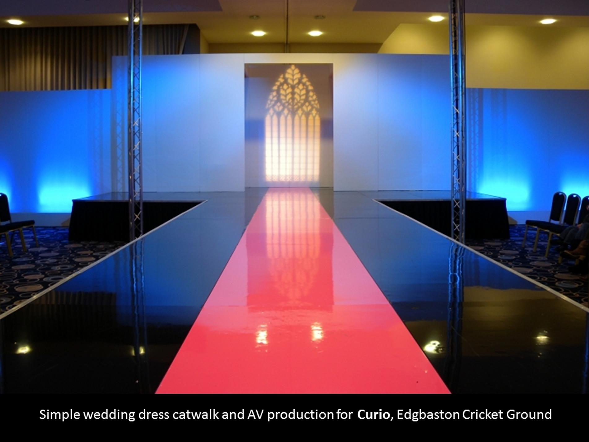Catwalk Hire Stage Hire Fashion Show Production