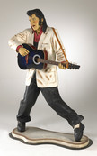 Life size Elvis Presley Statue Staging Services