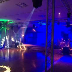Caribbean Themed Dance Floor