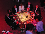London Tube Table Centre - London Prop Hire - Staging Services