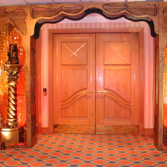 Asian Entrance Feature Archway
