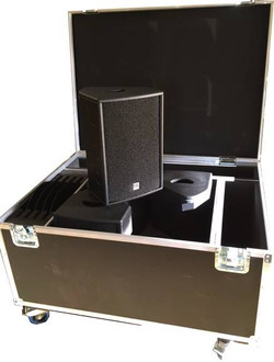 speaker in flight case