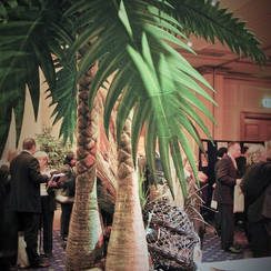 Jungle Palm Tree Feature - Event Theming