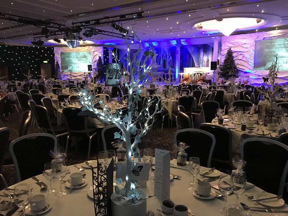 Our Winter Wonderland table centres
