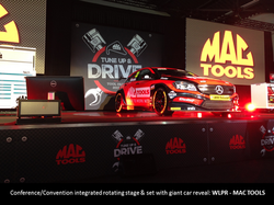 MAC TOOLS - Rotating Stage & Car Reveal