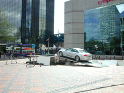 Stage ramp for photo shoot