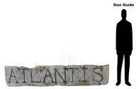 Lost City of Atlantis SIgn Prop Hire - Staging Services