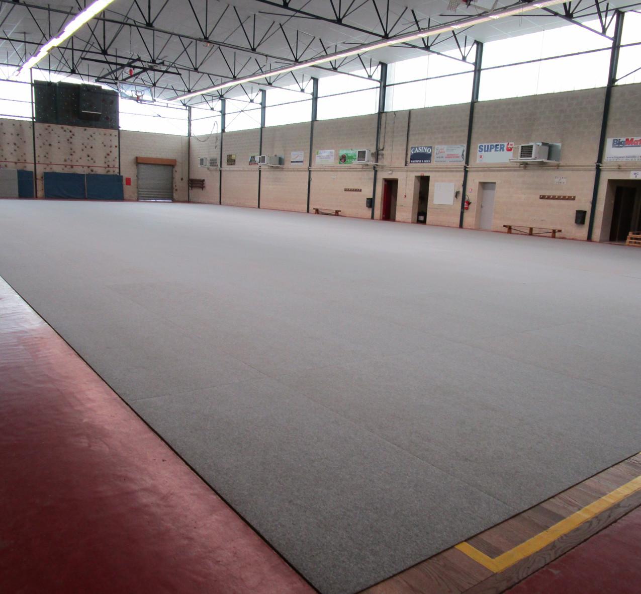 Sports Hall Protection Mega-Tile