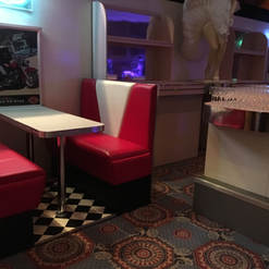 Dining Booth & Bar