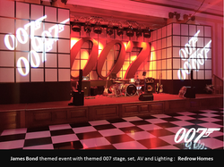 James Bond Stage & Set