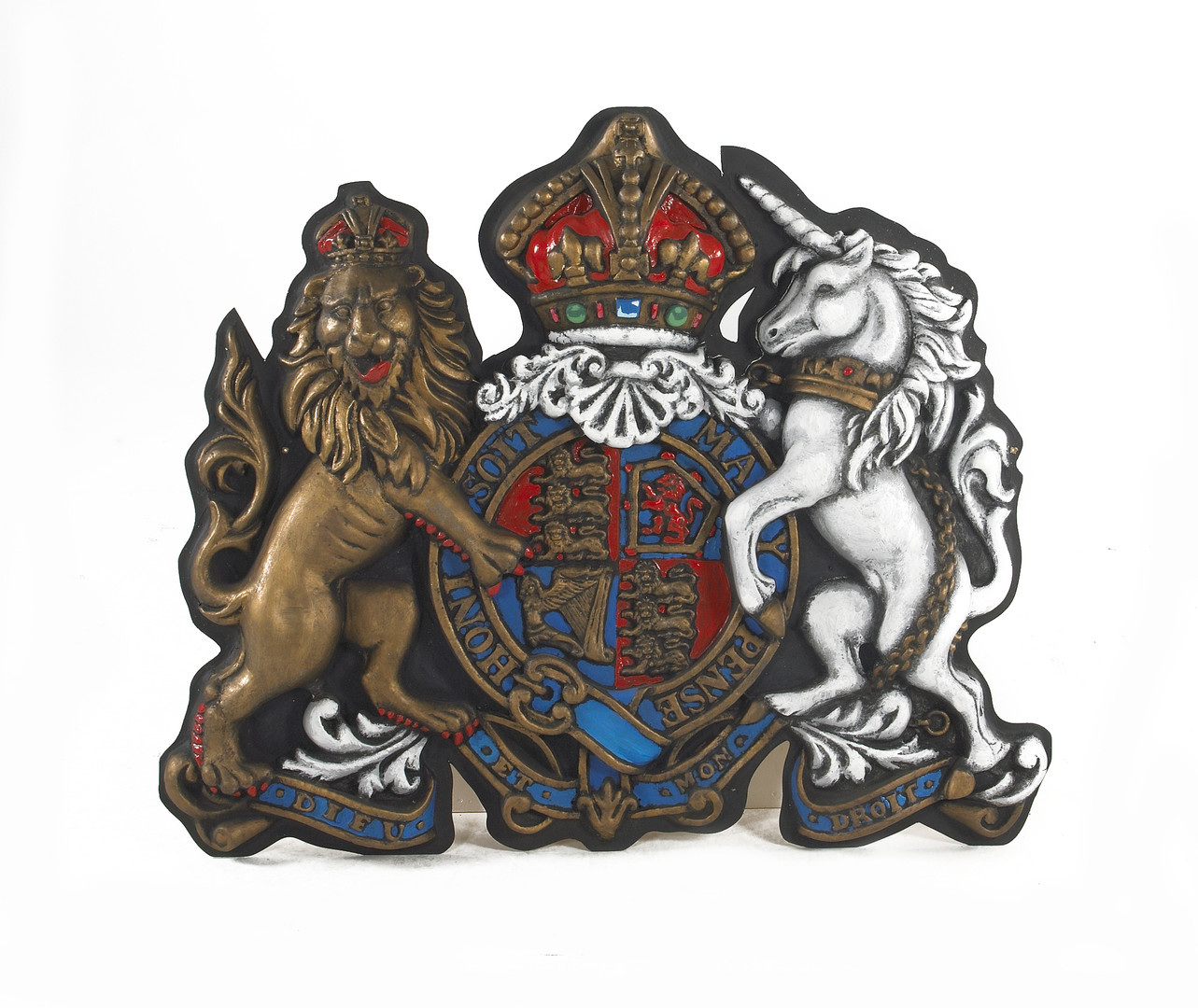 Coat-of-Arms - prop hire - staging services