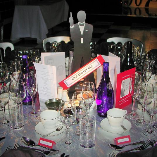 James Bond Table Dressing