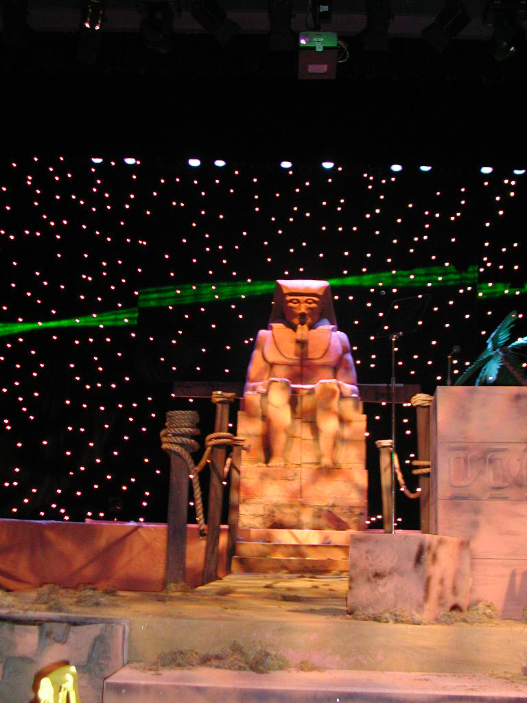 Egyptian Sphinx Prop Hire Staging Services