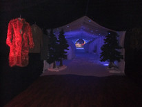 Narnia Ice Tunnel - g ServiceProp Hire - Stagins