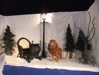Narnia Witches Sleigh - Prop Hire - Staging Services
