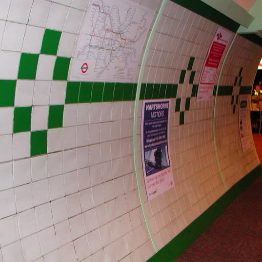 Replica London Underground Set