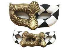 Giant Harlequin Mask Hire Staging Services