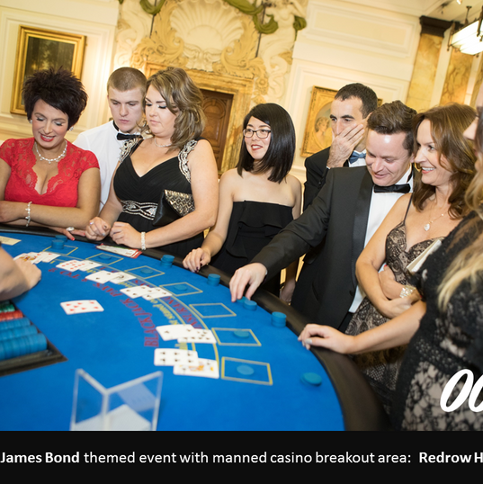 Casino Royal Themed Event