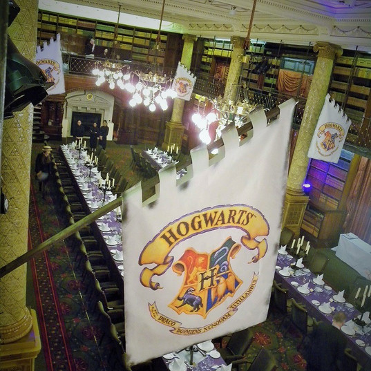 Hogwarts Flag in the Great Hall