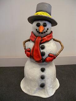 Snowman Prop