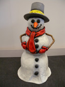 Christmas Snowman Hire - Staging Services