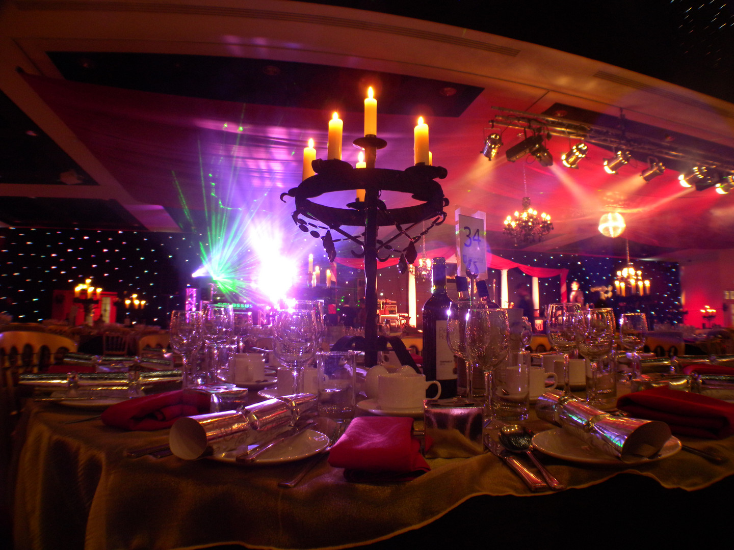 Table Top Candelabra Hire - Staging Services
