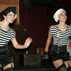 Parisian Dancing Girls