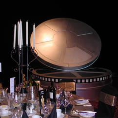 Giant Film Can Hollywood Venue Dressing
