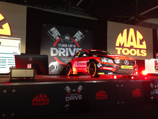 WLPR Reveals MAC Tools BTCC Car